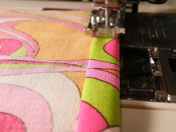 pink sewing