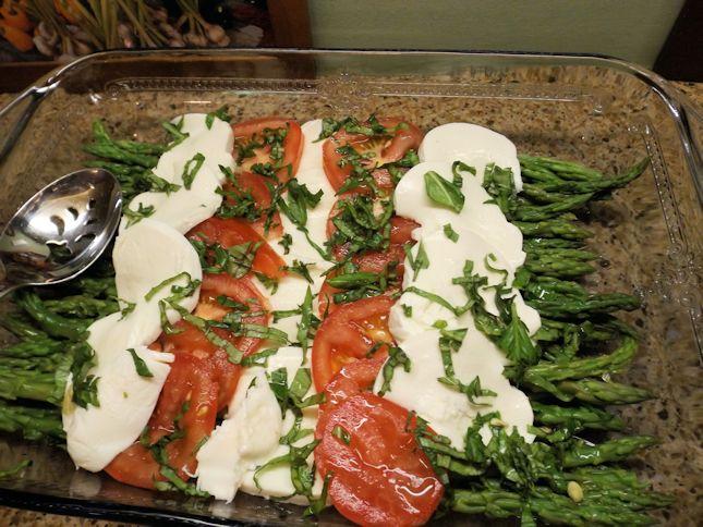 tomato asparagus